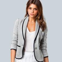 2019 Musim Semi Wanita Memakai Fashion Diri Budidaya Tipis Temperamen Kecil  Setelan Lengan Panjang Pendek Blazer 8d497c340d