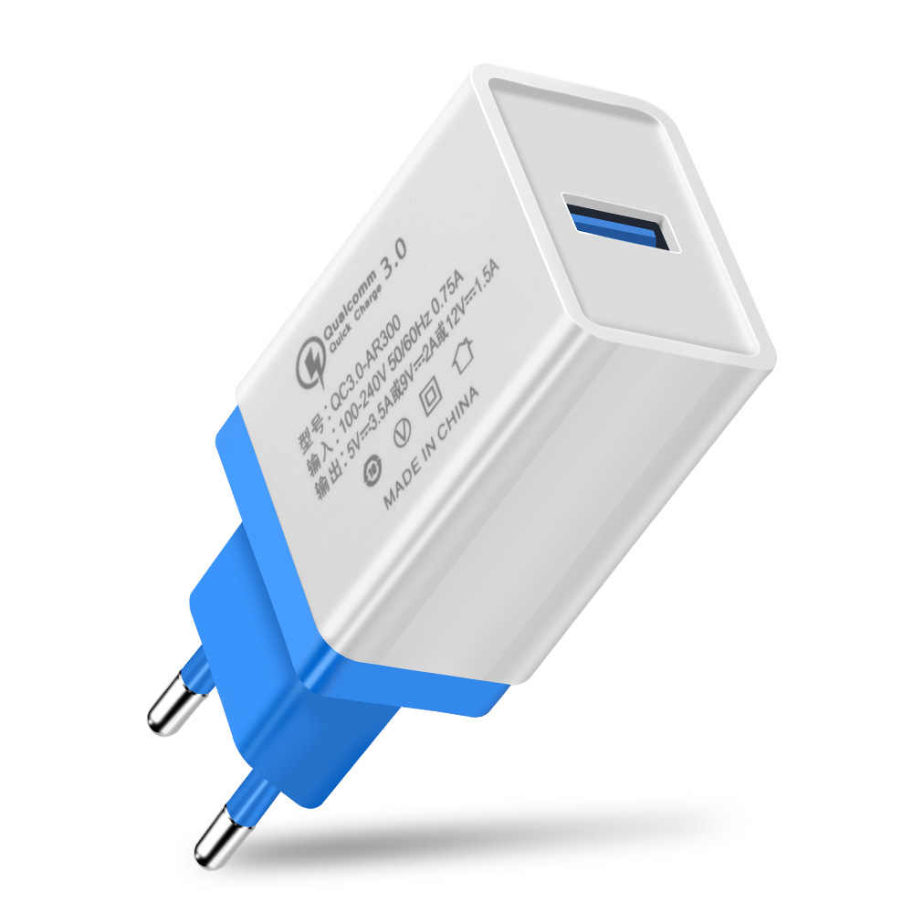 USB الهاتف شاحن سريع تهمة 3.0 2.0 الاتحاد الأوروبي/الولايات المتحدة التوصيل السفر الحائط محول الشحن لسامسونج HTC أقراص سريع المحمول الهاتف شاحن