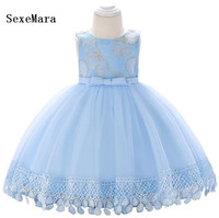 Real Picture Baby Girls Baptism Dresses for 3 6 12 18 24 Month 1 2 Year Birthday Dress Baby Christening Gown Christmas Dress