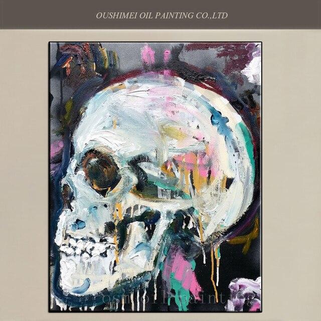 Bas Prix Peint à La Main Moderne Abstraite Toile Peinture L