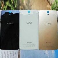 Case voor Lenovo Vibe S1 S1A40 Achter Deur Behuizing Vervanging Fundas S1A40 Batterij Back Cover met sticker Adhesive