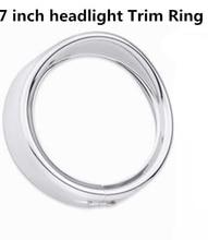 7 pollici visiera faro testa della lampada della luce trim di bellezza anello per Harley touring softail moto accessori 7 pollici luce Trim anello
