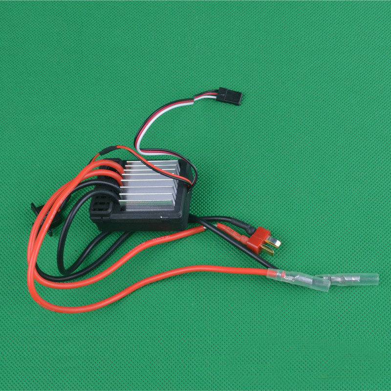 1pcs HG P407 RC Crawler Cars Brushed ESC Electric Speed Controller Original Parts for 1/10 4WD Pick-up Truck Bigfeet RC Cars new 7 2v 16v 320a high voltage esc brushed speed controller rc car truck buggy boat hot selling