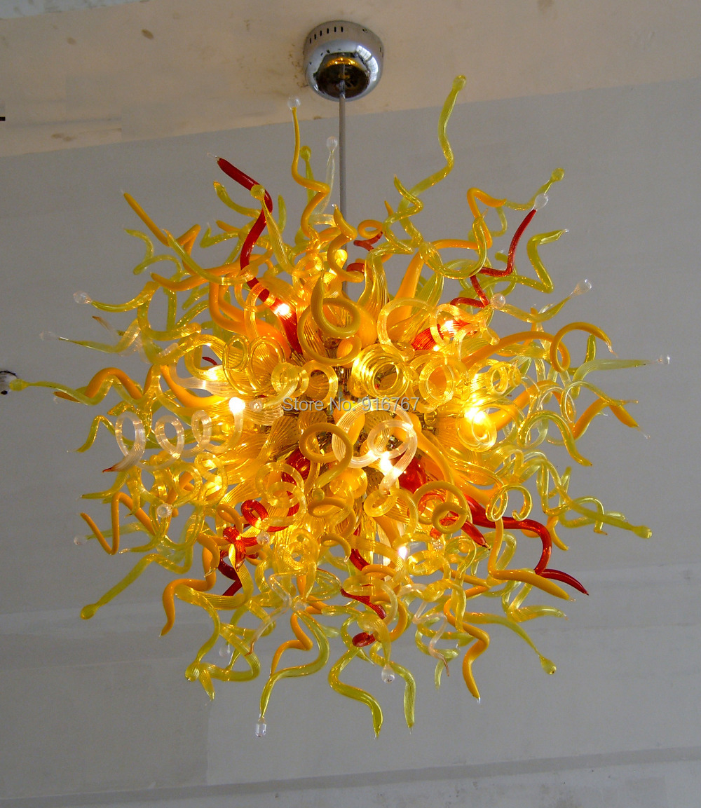 100% Hand Blown Dale Chihuly Lamp Sunshine Lighting Murano Chandelier Modern100% Hand Blown Dale Chihuly Lamp Sunshine Lighting Murano Chandelier Modern