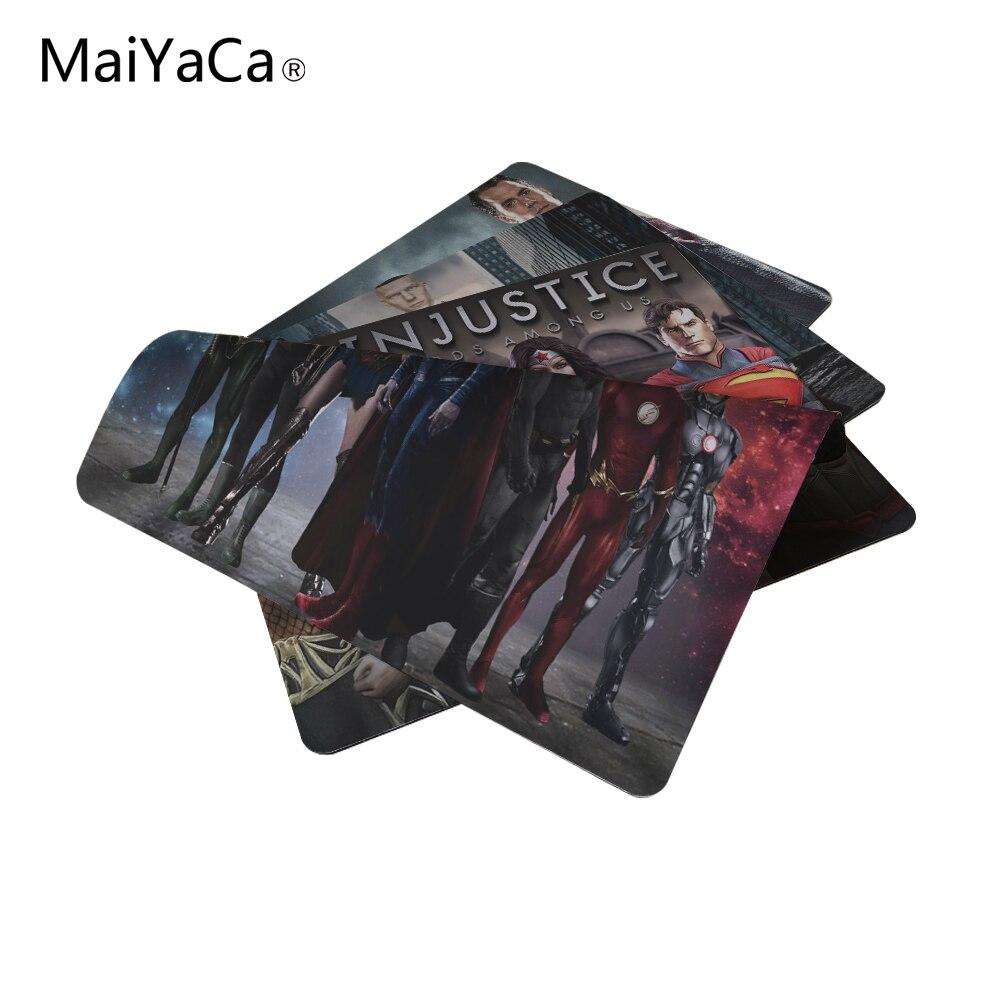 MaiYaCa Batman Wonder Woman Superman Mouse Pad Size 18*22cm and 25*29cm Mouse Mat