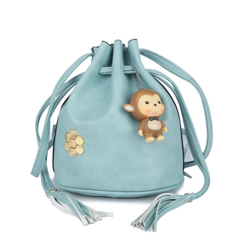 Aliexpress.com : Buy Hot Fashion Style Small Monkey Bucket Bags ...