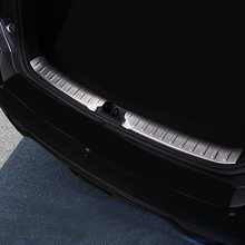 1PCS Stainless Steel Inner Rear Bumper Protector Guard Plate Cover Trim For Nissan Kicks 2016 2017 2018 Car Accessories
