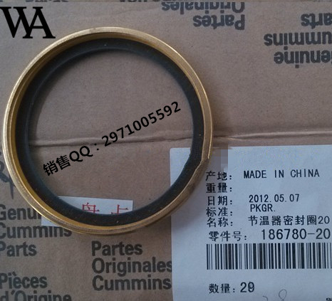 Engine: 186780/135600 adjustment / thermostat gasket / NT855 / KTA19G7Engine: 186780/135600 adjustment / thermostat gasket / NT855 / KTA19G7