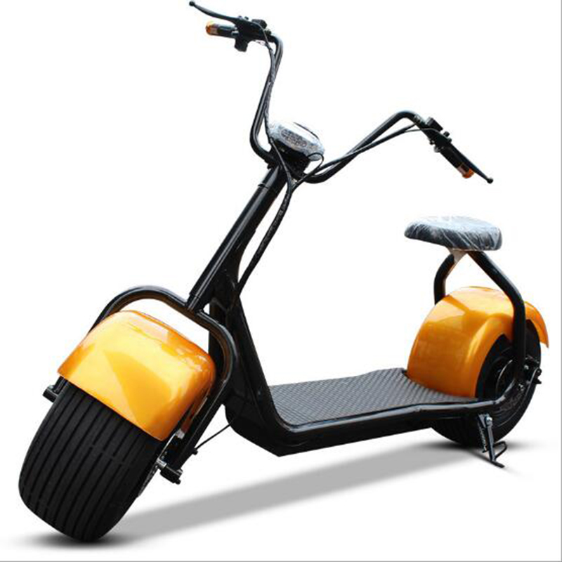 1000 W Électrique moto Citycoco Scooter Super autonomie de la batterie led phares Unique ou double siège vélo Électrique motos