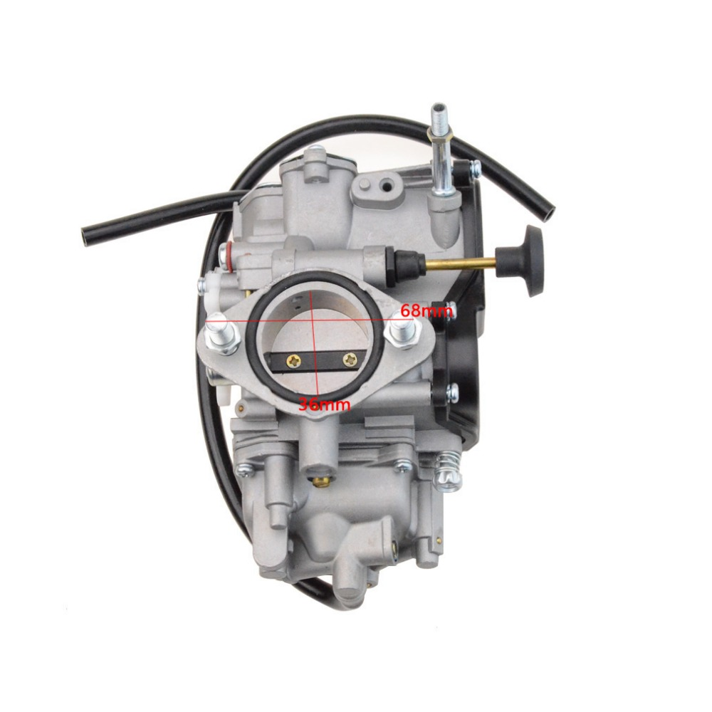 GOOFIT Carburetor Carb for Yamaha Warrior 350 YFM350 YFM-350 Carburettor motorcycle parts 1999-2004 N090-122 goofit twin carburetor double carburettor cylinder carb chamber 250cc rebel cmx 250cc cmx250 ca250 cbt250 n090 050