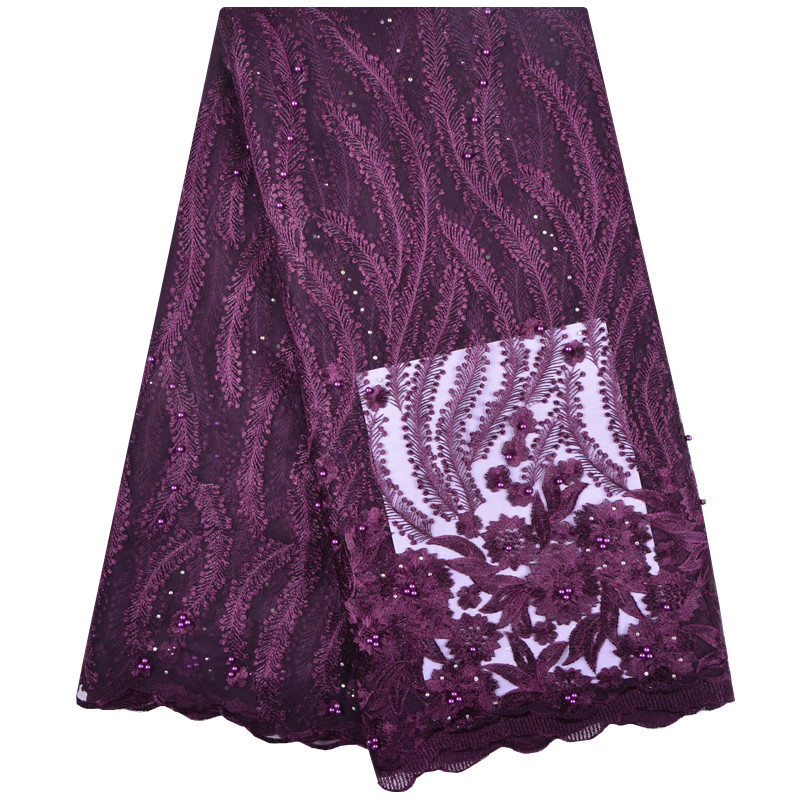 Best African Cord Lace Fabric African Swiss Voile Lace High Quality Fashion French Lace Fabric For