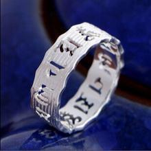 Полые золотые женские кольца в виде Будды серебряные ювелирные