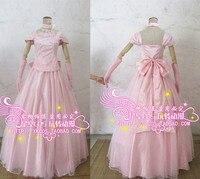 Аниме Любовь этап! Карнавальный костюм Лолита панк Kawaii сена Izumi Свадебная вечеринка платье с бантом комплект
