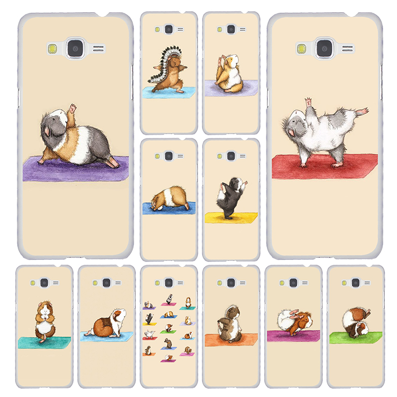 Lavaza The Yoga Guinea Pigs Art Phone Case for SamSung Galaxy M30 M20 M10 A70 A50 A40 A30 A10 A9 A8 A7 A6 Plus A5 A3 2018 2017 image