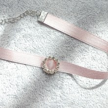 2019 New Fashion Trendy Jewelry Choker Necklace Gift For Women Girl Pink Lace Flower Velvet Wide Chokers Necklace 2018 trendy fashion peach pink shell flower necklace for women jewelry hot