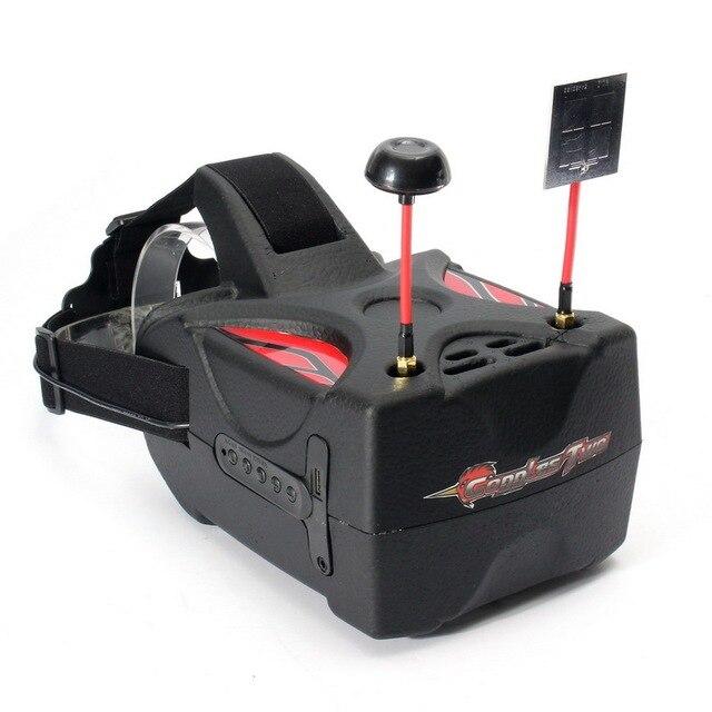 Resultado de imagen de Eachine Goggles Two 5 Inches 5.8G Diversity 40CH Raceband HD 1080p HDMI FPV Goggles Video Glasses