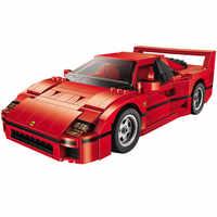 21004 1157 Uds Serie Técnica F40 bloques de construcción de automóviles deportivos Set ladrillos juguetes para niños regalos compatibles con lepines 10248
