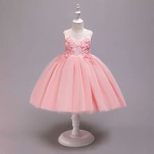 Carters Promotion Sale Lace Kids Dresses For Girls Trolls Summer Childrens Princess Performance Girl Vest Dress Clothes