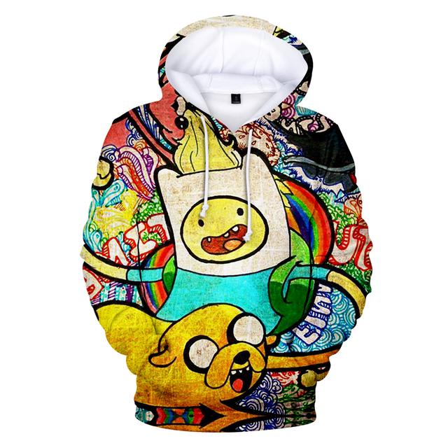 Adventure Time 3D print Hoodie