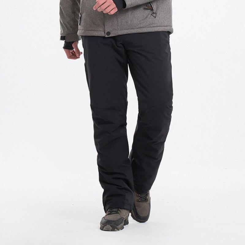 Nouveau pantalon de Ski d'hiver en plein air pour hommes pantalon de Ski coupe-vent imperméable à l'eau chaud respirant homme randonnée pantalon de neige