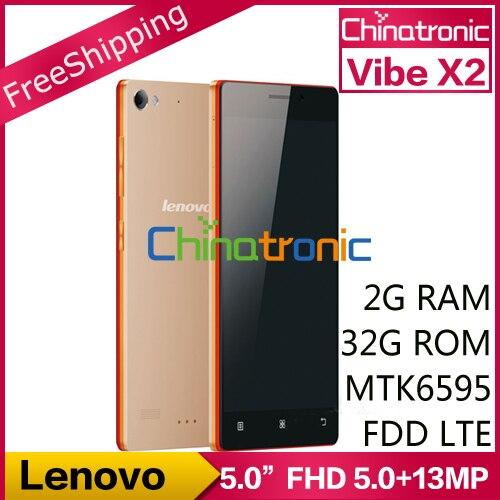 Original Lenovo VIBE X2 Mobile Phone MTK6595 Octa Core 4G ...