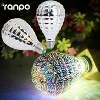 3D Star Led Bulb E27 Colourful Fireworks Edison Bulb For Holiday Party Bar Christmas Decoration 220V LED Lamp Lamparas Bombillas