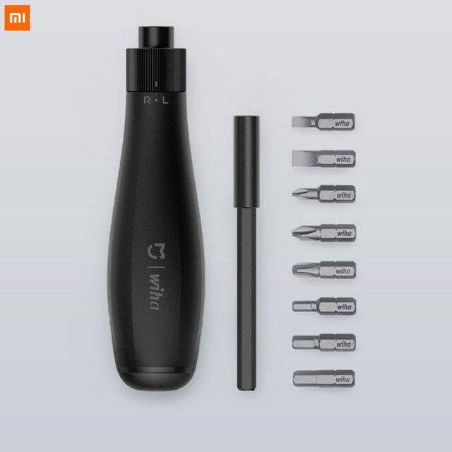 新 xiaomi mijia メーカー 8 in1 ドライバーキット多機能鋼 screwd ビットと延長ロッド磁気吸着修理ツール