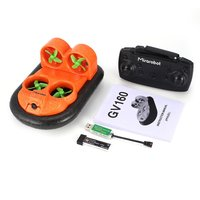 Mirarobot GV160 2.4G 7CH RC Boat Car Ground Effect Vehicle Speedboat Ship Model with 30km/h High Speed 5.8G FPV Version Gift