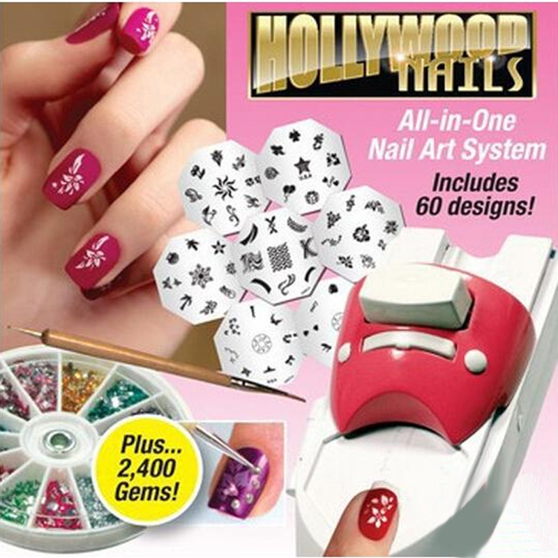 Hot Selling Hollywood Nails All in One Professional Nail Art System ...