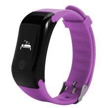 X7 браслет монитор сердечного ритма Bluetooth Smart Band шагомер температуры высота Спортивный Браслет фитнес-трекер часы