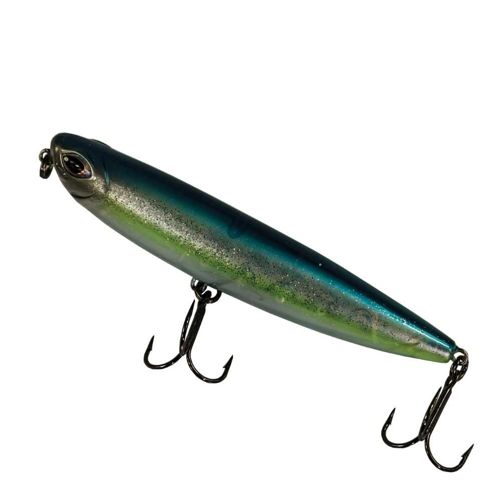 BassLegend-Fishing Saltwater Lure Topwater Surface Pencil Bait Sea Bass Pike Lure Walk The Dog 120mm/26g