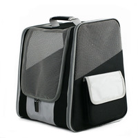 Hot Pet Bags On Shoulders Large Space Ultra breathable Foldable Pet Backpack For Travel Pet Carrier Bag