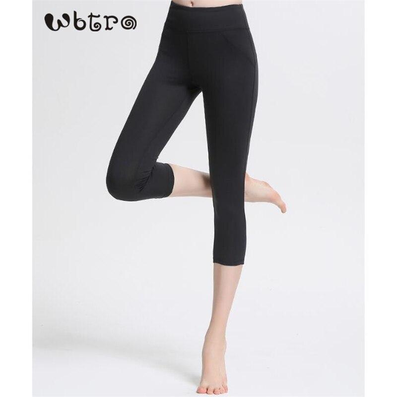 WBTRO femmes pantalons de Yoga leggings de Sport vêtements de Fitness course Jogging tenue de Sport sans couture élastique taille haute Leggings de Sport