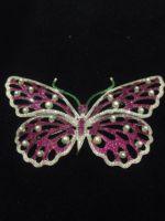 Luxury quality full cubic zircon brooch butterfly corsage decoration female 925 silver Big Butterfly Brooch Women Jewelry