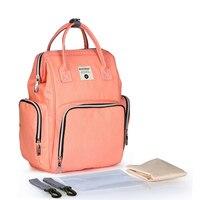 New fashion Nappy Bag Waterproof Maternity Travel Backpack Nursing Bag Stroller BA029