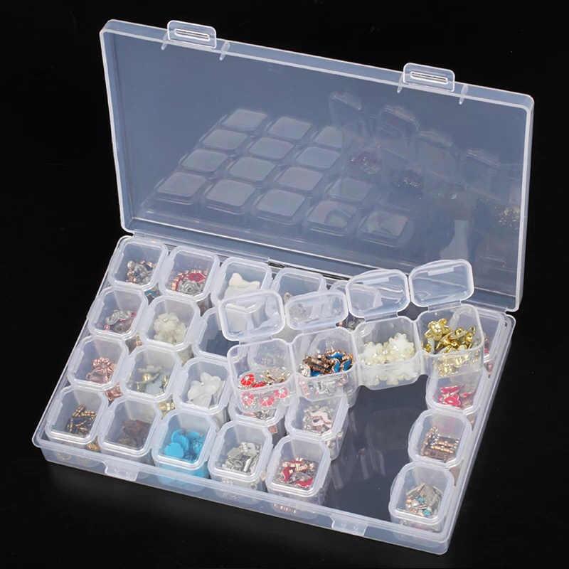 Box für diamant stickerei, diamant malerei zubehör, lagerung fällen, diamant malerei box