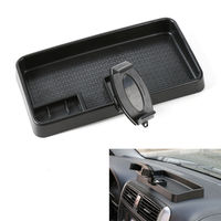 Car Multi Mount Bracket Mobile Phone GPS Mount Cradle Holder Dashboard Storage Box Card Container For
