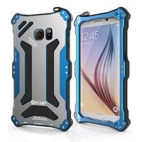 Original Gundam Armor Metal Aluminum Case For Samsung Galaxy S6/ S6 Edge Waterproof 360 Full Protection Hard Cover Phone Cases