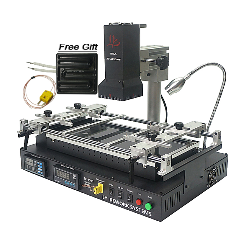 Russia Tax Free LY IR8500 Infrared BGA Rework Station Low Cost Bga Machine Laptop Repair System free tax