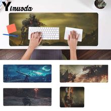 Yinuoda New Design Dark Souls Customized laptop Gaming mouse pad Pad To Mouse