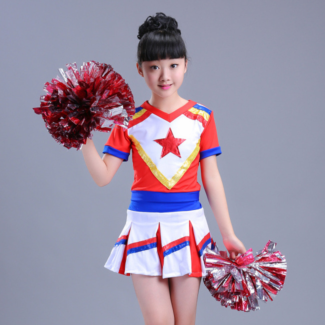 Children's Cheerleading Performances, Children's Calisthenics, Dancing Skirts, Children's Cheerleading Costumes, Boys And Girls