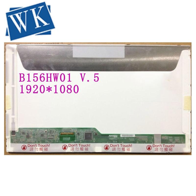 Livraison Gratuite B156HW01 V.5 B156HW02 LP156WF1 TLB2 LTN156HT01 LTN156HT02 15.6LED 1920X1080 40PIN ÉCRAN LCD Écran D'ordinateur Portable