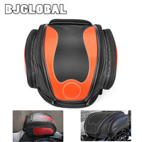 BJGLOBAL Portable Motorcycle Luggage Bag Saddle Bags Rear Bag Back Seat Helmet Pack Luggage Box Case Cover