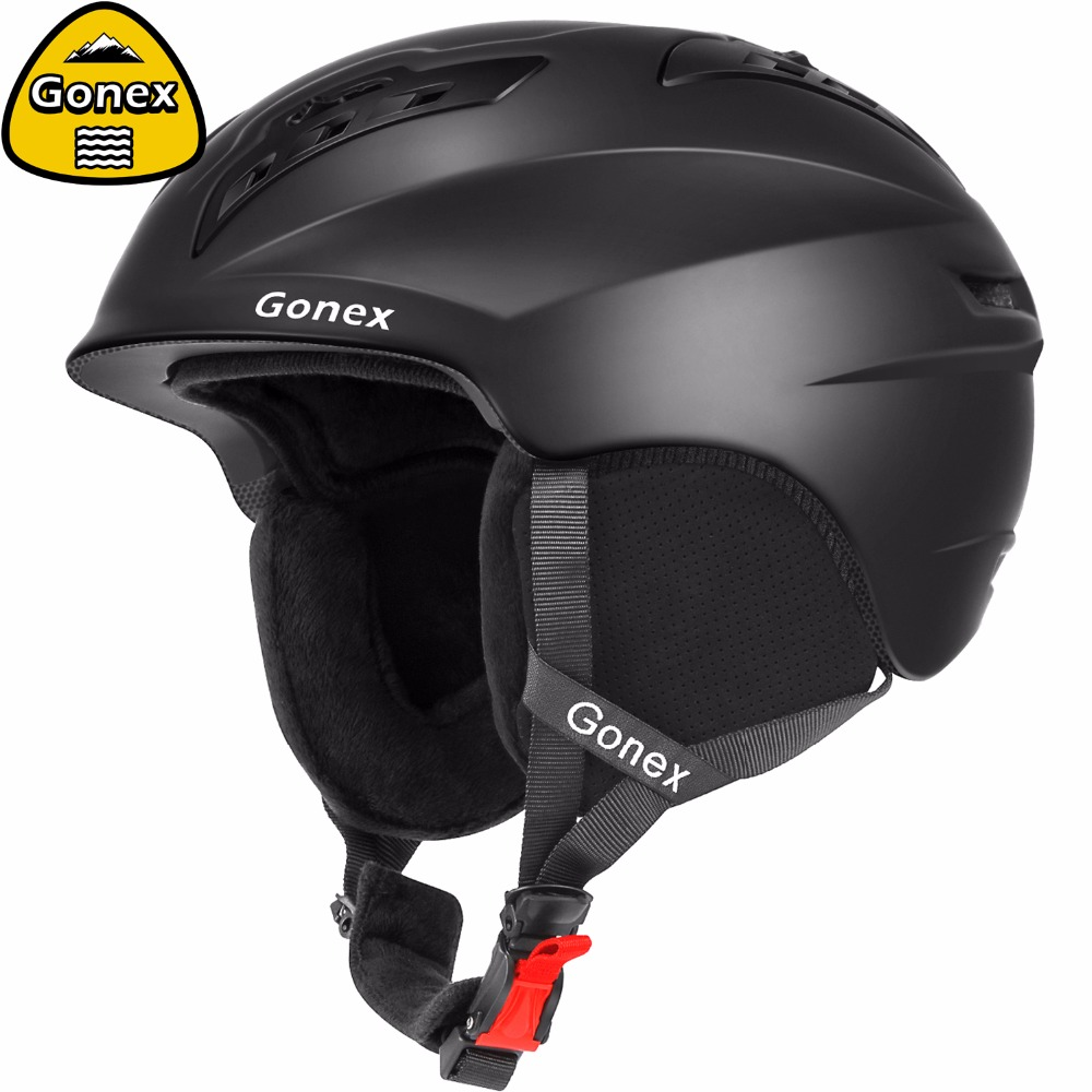Gonex 2019 Classic Ski Helmet with Safety Certificate Integrally molded Snow Snowboard Helmet for Winter Sports