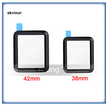 10Pcs/Lot 38mm 42mm Display Touch Screen Front Outer Glass Lens Replacement Parts For Apple Watch Series 1 Sport Sapphire image