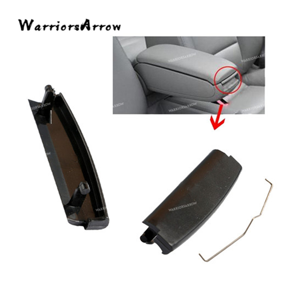 WarriorsArrow Black Car Inner Console Center Armrest Latch Lock Lid Clip For Audi A4 S4 A6 C5 2001 2002 2003-2005 4B0864245AG image
