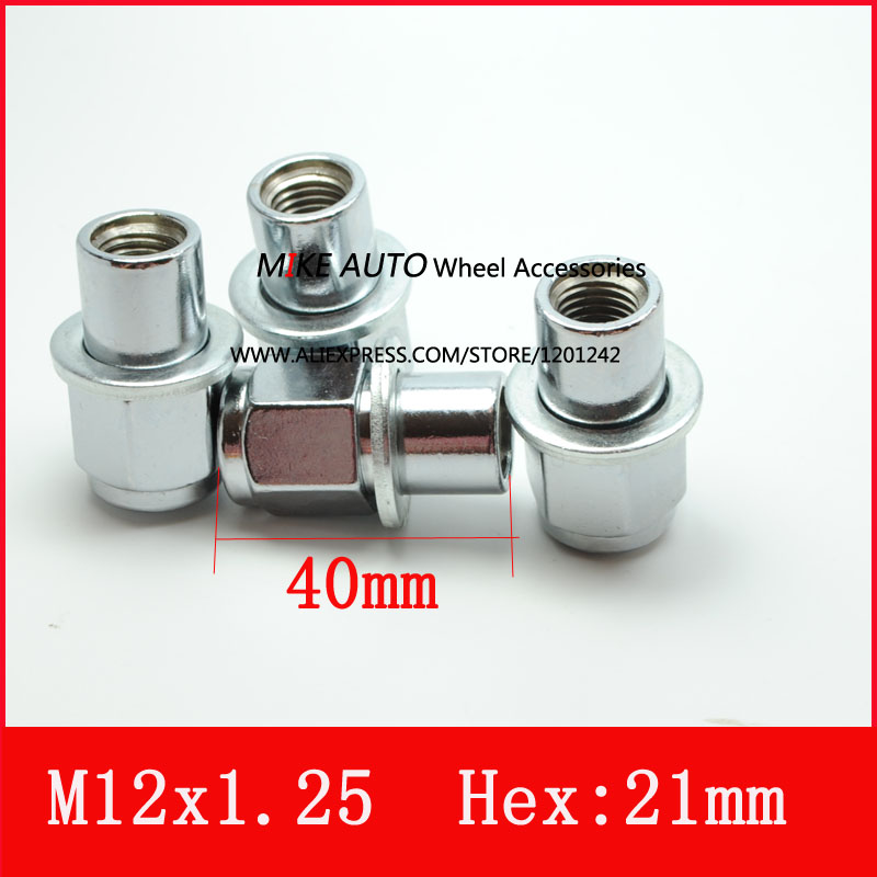 20PCS M12x1 25 wheel mag nut with washer for the alloy wheel of Lexus series