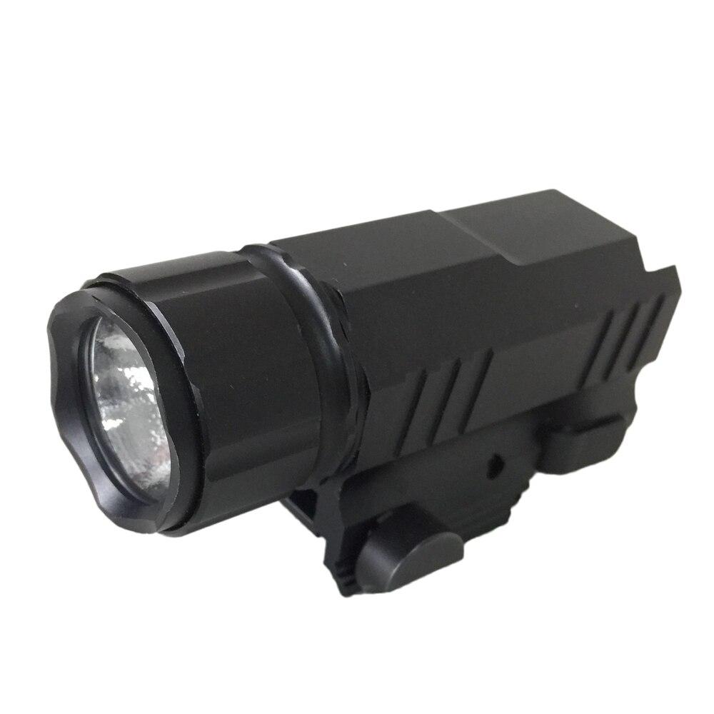 GUGULUZA 200 Lumens LED Tactical Gun Flashlight Torch 2 Modes Lanterna LED Flash Light for Pistol Handgun
