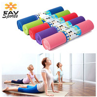 Non slip 6MM PVC Exercises Mat Fitness Pilates Tasteless Thick Yoga Mat For Women Body shaping Sports Mat Pad fitnessmatte