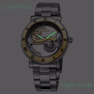 Image 2 - Echte IK 2019 Tourbillon Automatische Mechanische mannen Horloges Volledige Roestvrij Stalen Horloge Mode Horloge Mannelijke Relogios Masculino